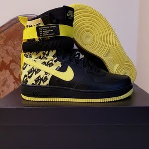 yellow air force 1 high top